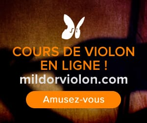 Cours de violon en ligne Mildor Violon Big Box Square