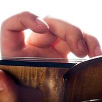 Violon manche touche violoniste Thumbnail 07